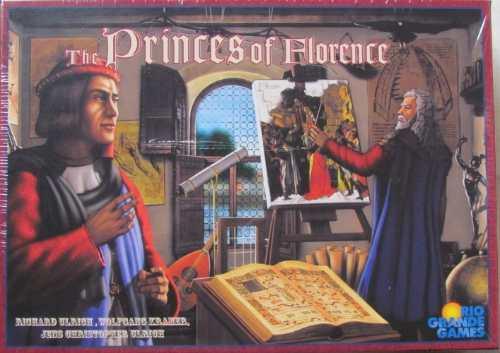princes of florence - rio grande games - jogo importado