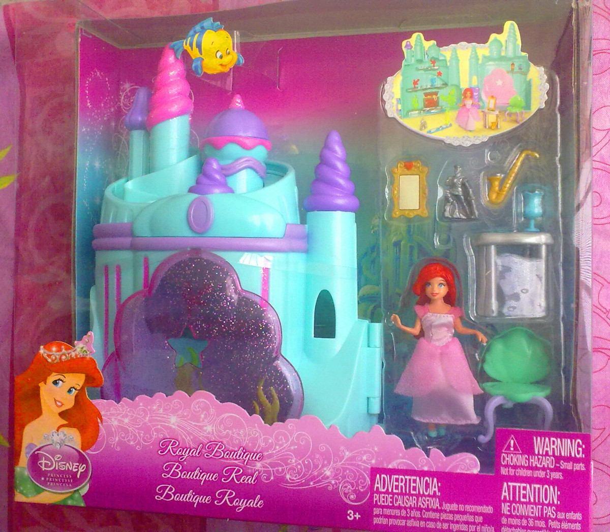 Princesa ariel set mini de casita muneca y accesorios - Casitas de princesas ...
