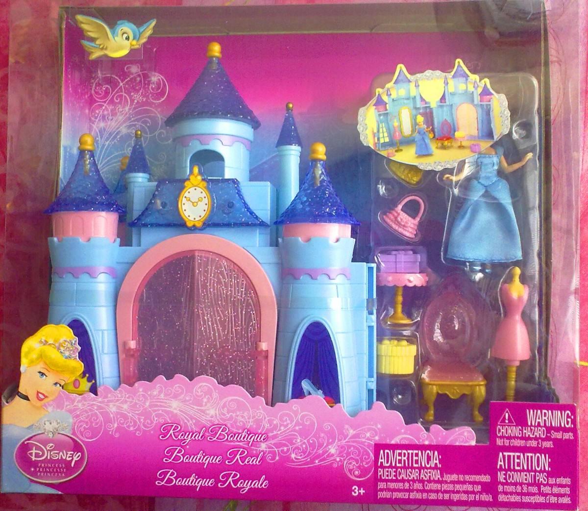 Princesa cenicienta set mini casita muneca y accesorios 1 en mercado libre - Casitas de princesas ...