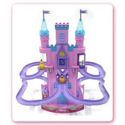 princesa disney castillo magico luz y sonidos ditoys bigshop