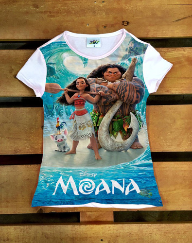 princesa moana disney blusinha t-shirt camiseta infantil