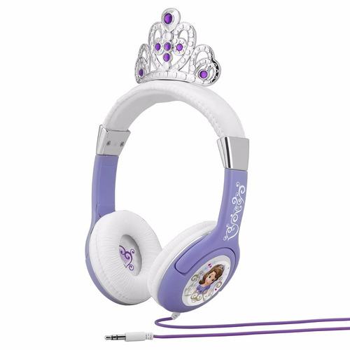 princesa princess sofia kid auriculares audifonos