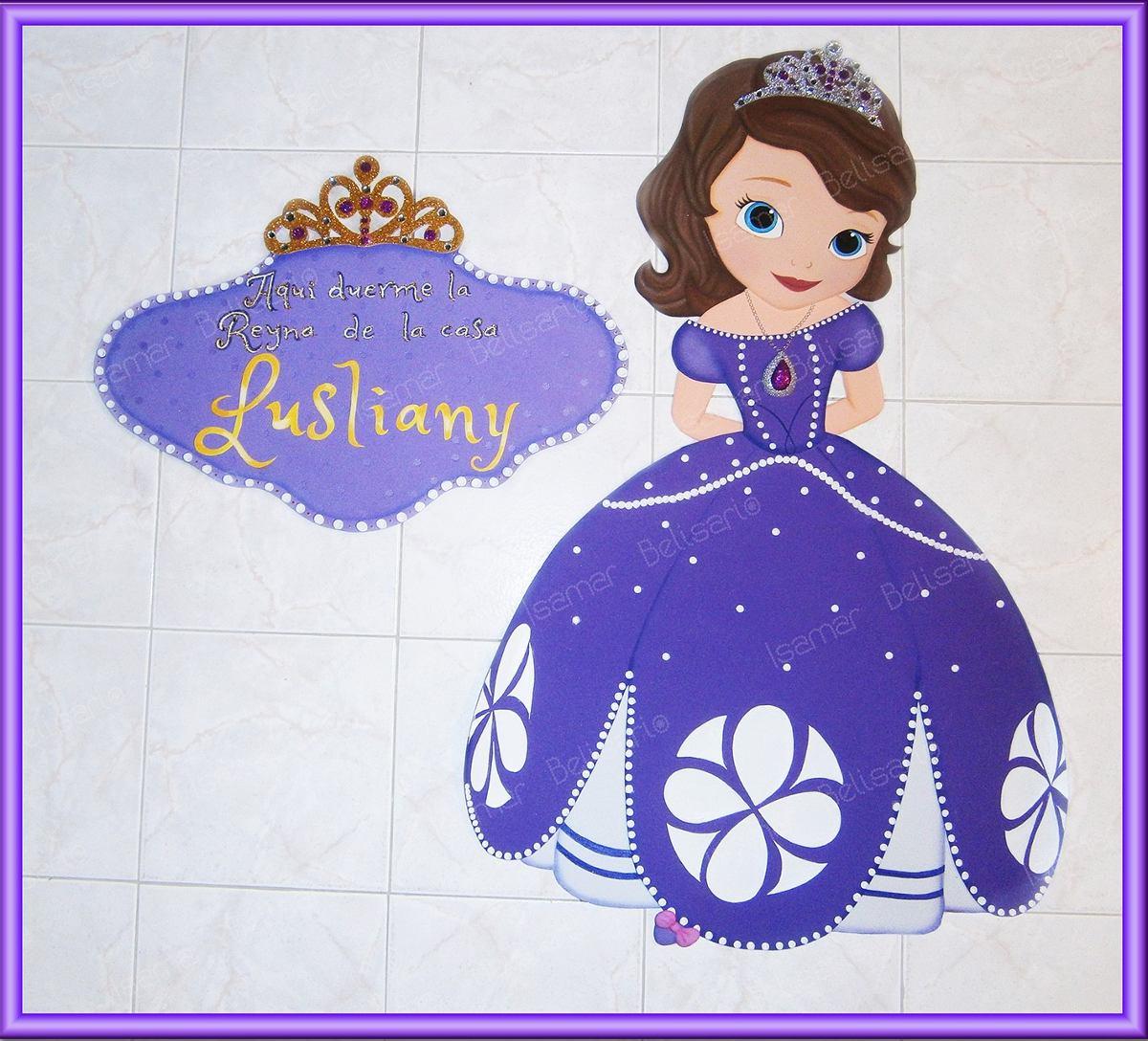Princesa sofia disney figura cartel foami fiesta for Poster de pared grandes