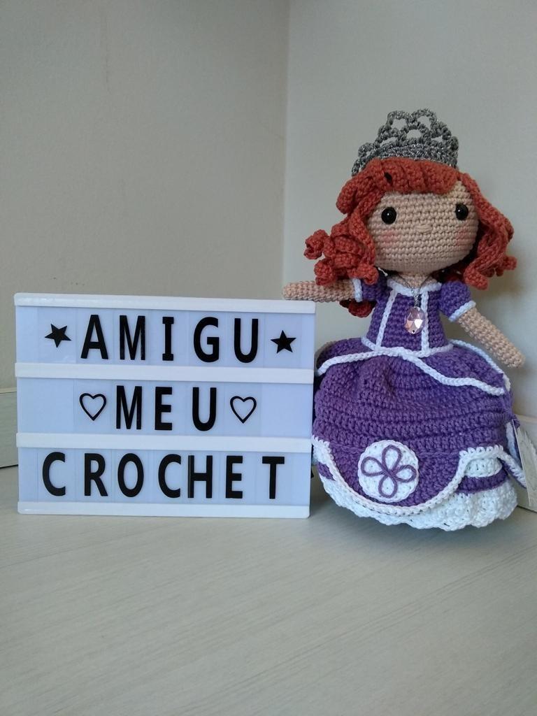 Boneca Sofia amigurumi no Elo7 | Crochetados por Angela Witt (12E9FE0) | 1024x768