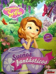 Princesa Sofia Libro Para Colorear Tamaño Carta