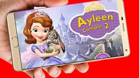 Princesa Sofia Tarjeta Invitación Digital Cumpleaños Vídeo