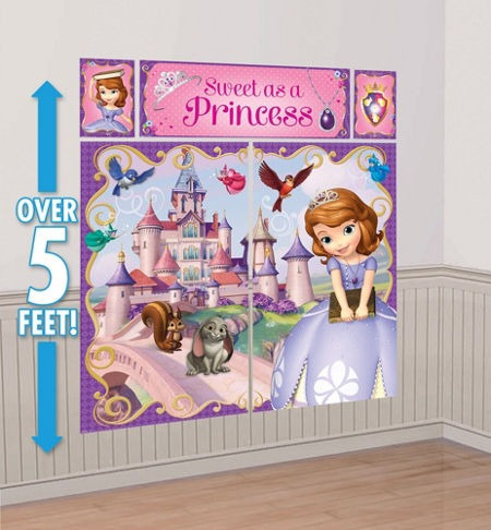princesa sofia the first disney articulos de fiesta