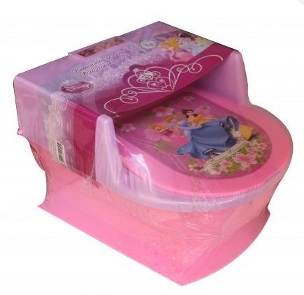 princesas baño bacin entrenador bebe princess disney baby