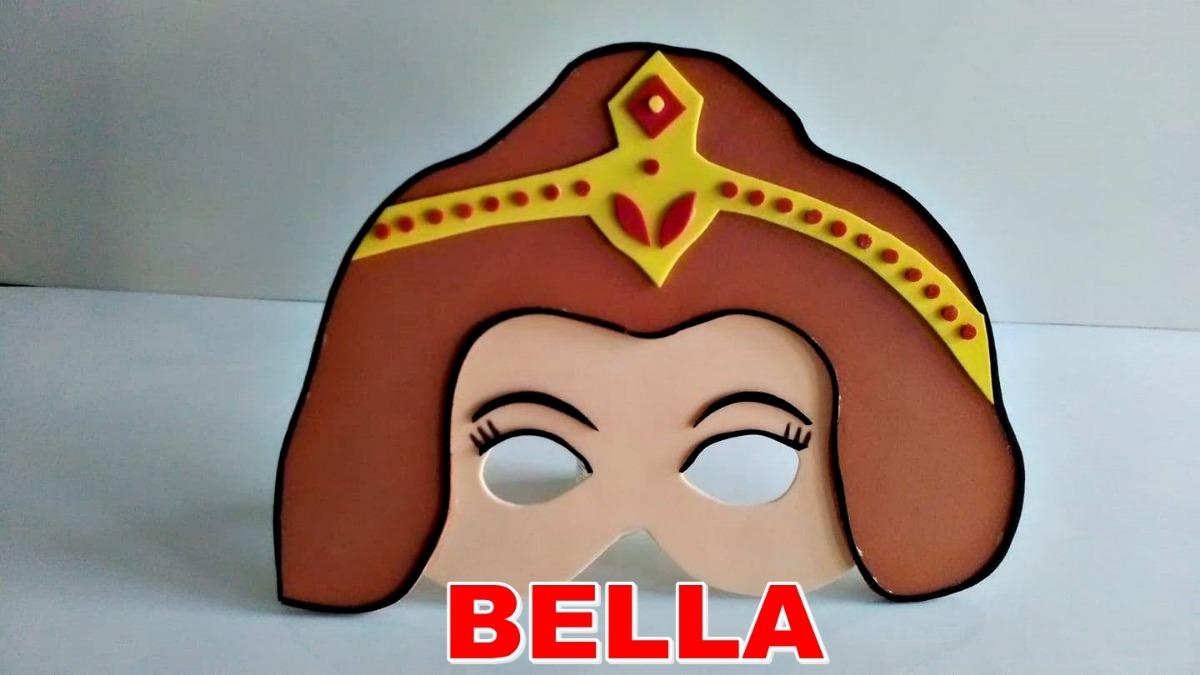 271178c5851 Princesas Disney Mascaras De Goma Eva