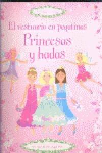 princesas y hadas el vestuario en pegatinas fiona watt