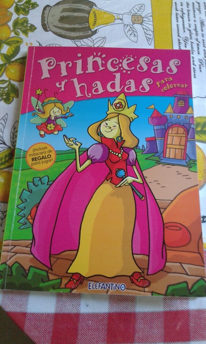 Princesas Y Hadas. Para Colorear - $ 60,00 en Mercado Libre