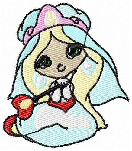 princesinha - coleção de matriz de bordado