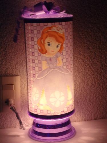 princesita sofia centros de mesa,recuerdos, lamparas 1regalo