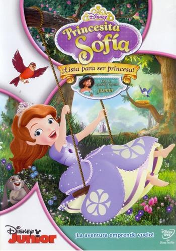 princesita sofia ¡ lista para ser princesa ! pelicula dvd