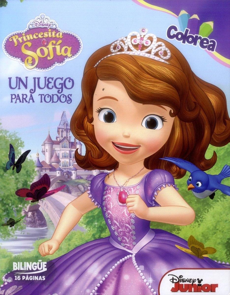 Princesita Sofia Un Juego Para Todos Colorea - $ 33.948 en Mercado Libre