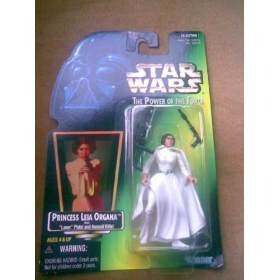 princess leia with laser pistol - power of the force