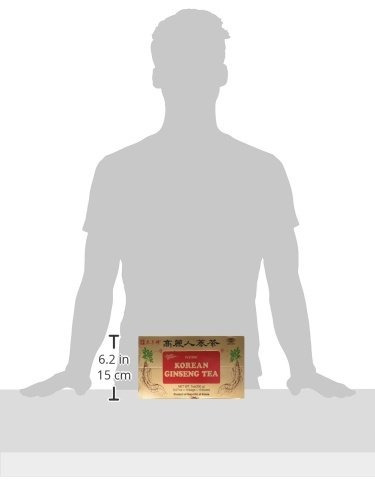 príncipe de la paz inmediata de corea del panax ginseng té