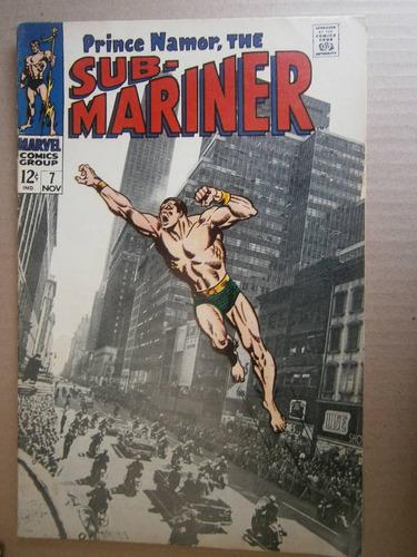 principe namor submarinero # 7 marvel original en ingles