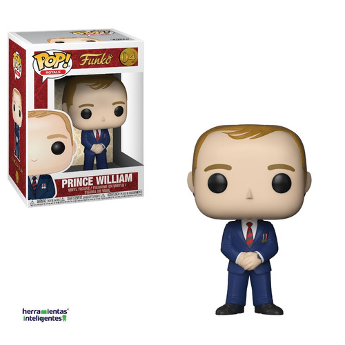 príncipe william funko pop royal family
