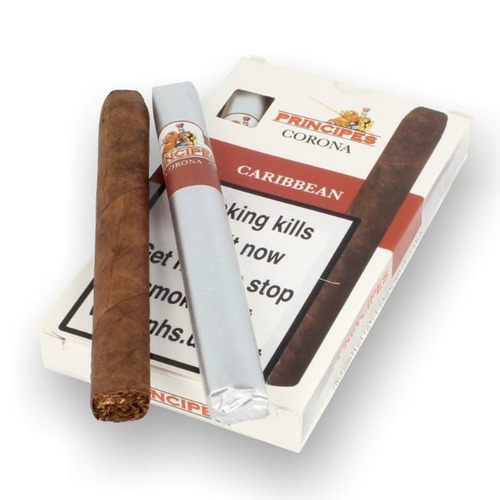 principes caribbean corona ron habano cigarros tabaco puro