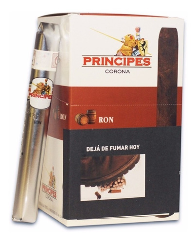 principes corona cherry cigarros red habanos puros puro