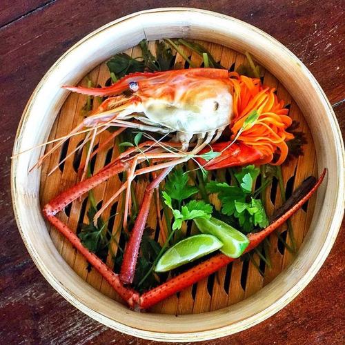 princípios básicos para o camarão da malásia
