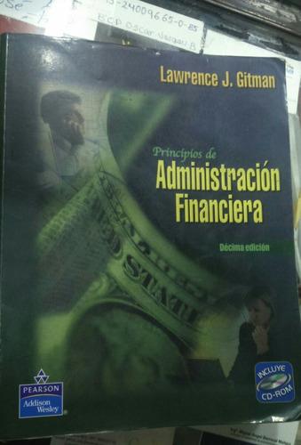 principios de administración financiera lawrence 10 edición