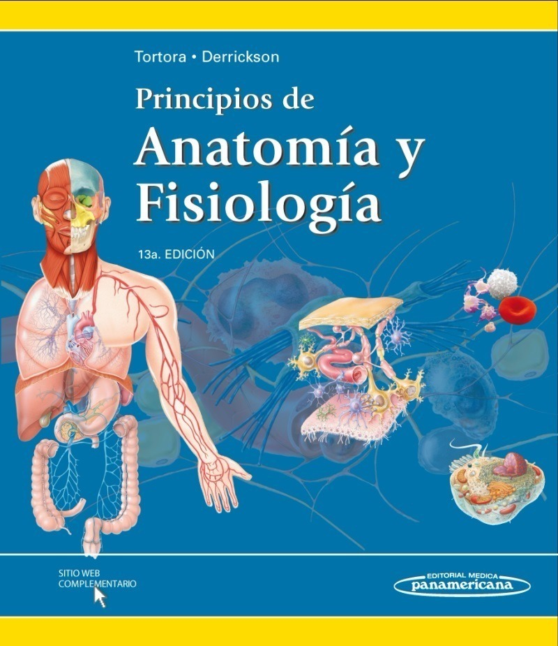Principios De Anatomía Y Fisiología Tortora - $ 235,00 en Mercado Libre