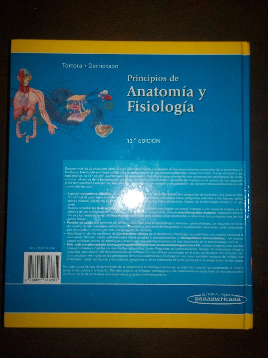 Principios De Anatomía Y Fisiología - Tortora, Como Nuevo! - $ 3.000 ...