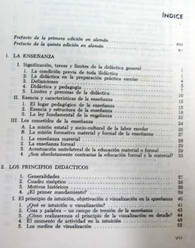 principios de didactica moderna stocker