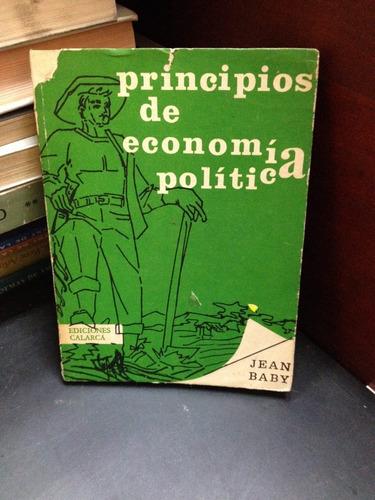 principios de economía política. jean baby,ediciones calarca