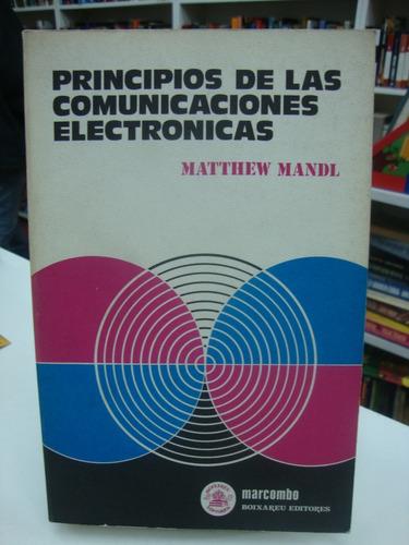 principios de las comunicaciones electronicas - matt mandl