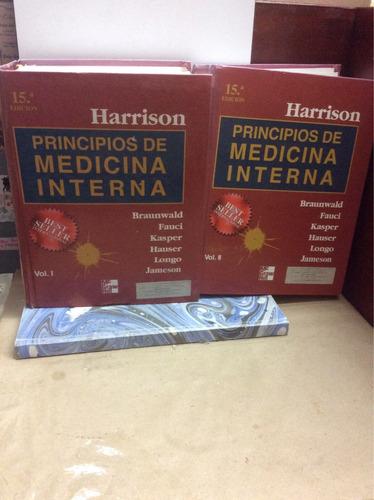 principios de medicina interna - harrison - volumen i y ii