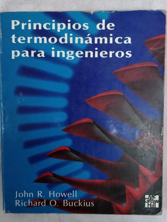 principios de termodinamica para ingenieros howell