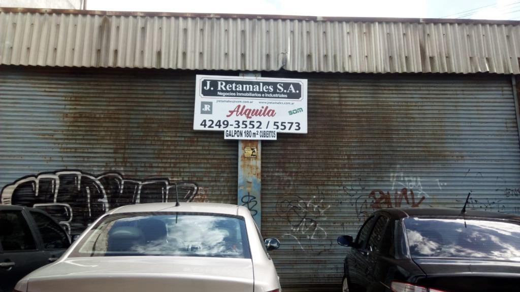 pringles, j., cnel. 300 - temperley - oeste - depositos/industrias galpones - alquiler