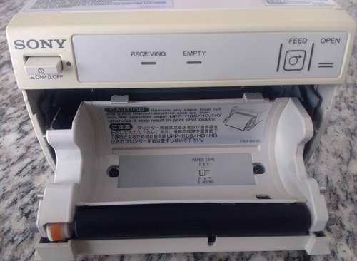 printer sony up-d895 md-ultrassonografia-usada