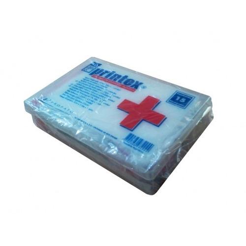 printex botiquin 15 elementos caja plastica
