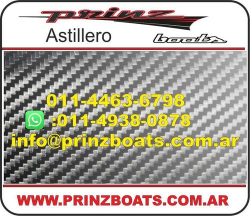 prinz 6.30 cabin, base lancha,tracker,cabinado