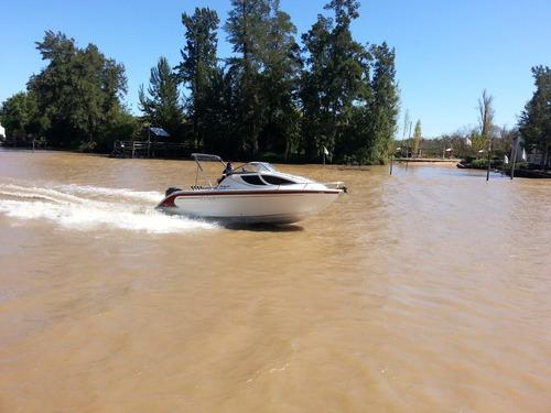 prinz 700 cudy  ,lancha cuddy 0 horas sin motor prinz boats