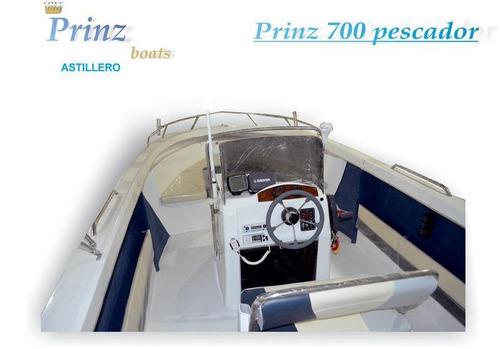 prinz 700 pescador c/honda 150hp 4 tiempos