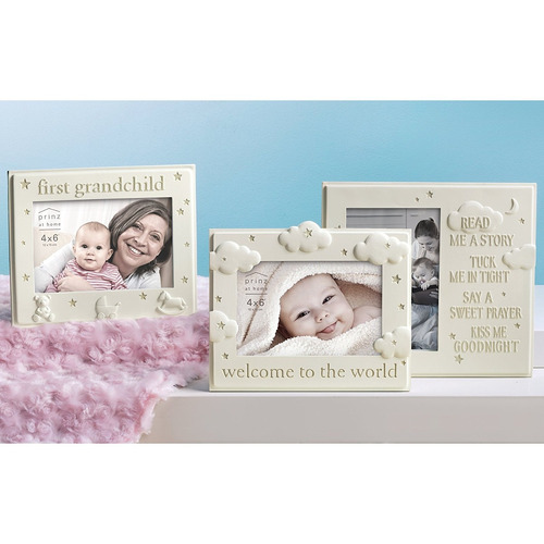Prinz First Grandchild Cream Resin Baby Frame - $ 1,492.47 en ...