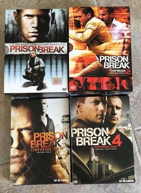 Prision Break En Dvd Originales Temporadas 1, 2 3 Y 4 - $ 990,00 en ...