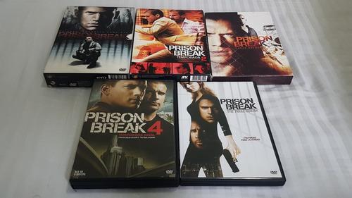 prision break original temp. 1-4 + película