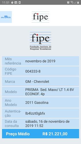 prisma maxx 1.4 flex 2011
