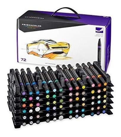 prismacolor premier 72 marcadores de arte de doble punta
