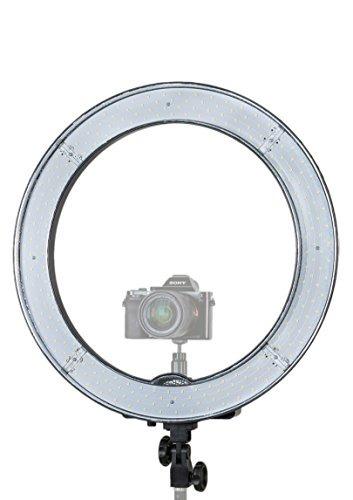 prismatic led halo ring light