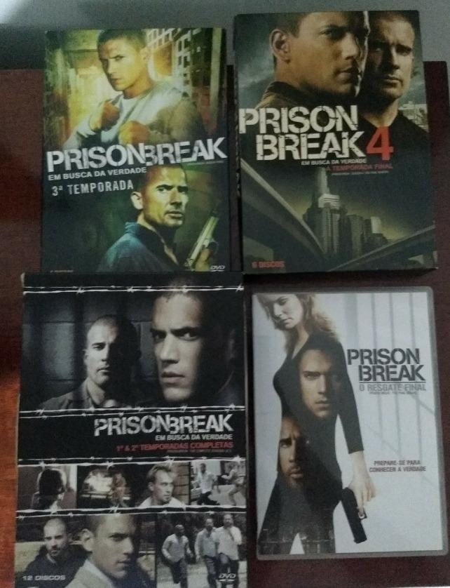 Prison Break 4 Temporada + Dvd Extra - R$ 50,00 em Mercado Livre