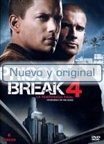 Prison Break: Cuarta Temporada - $ 610.00 en Mercado Libre