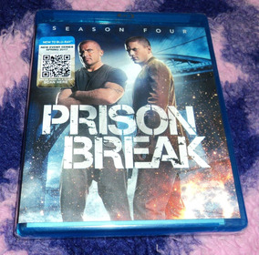 Prison Break - Cuarta Temporada - Bluray Importado Season 4