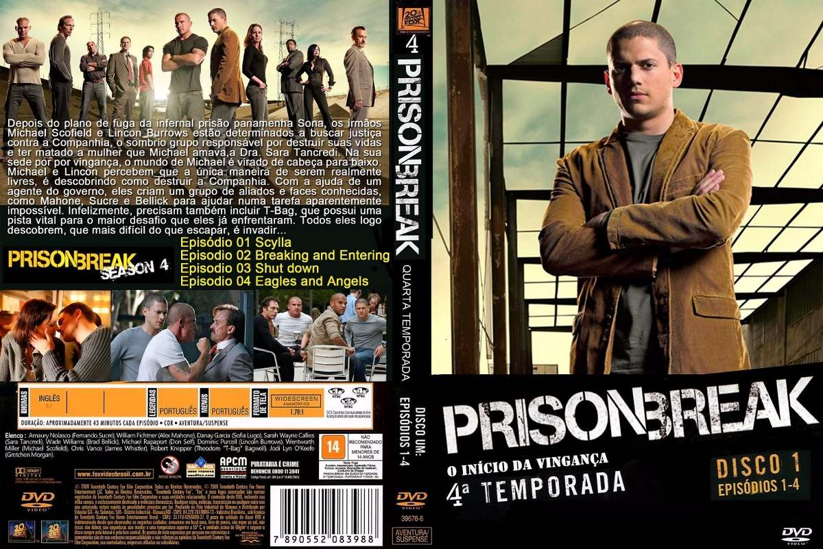 Prison Break Cuarta Temporada Completa